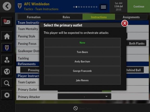 Football Manager Mobile 2016 Screenshot #1 for Android, iOS
