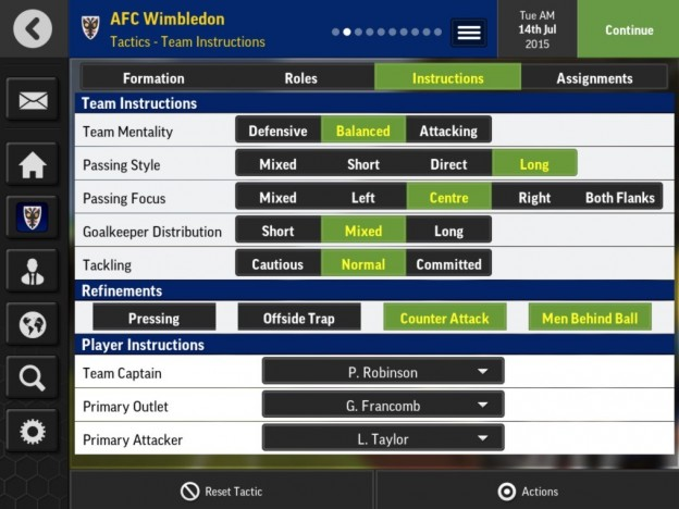 Football Manager Mobile 2016 Screenshot #2 for Android, iOS