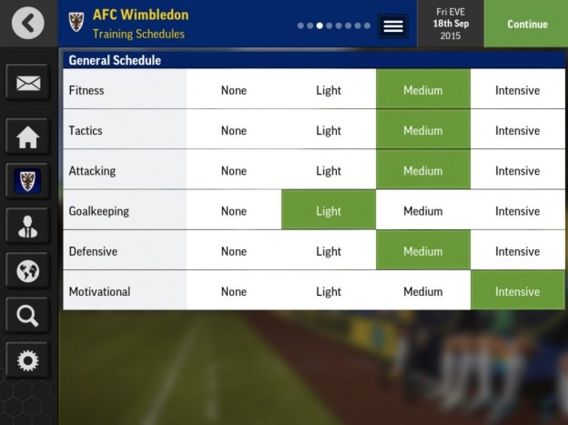 Football Manager Mobile 2016 Screenshot #3 for Android, iOS