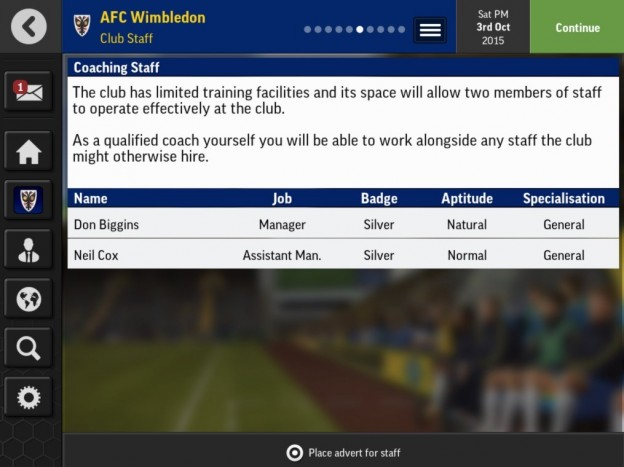 Football Manager Mobile 2016 Screenshot #4 for Android, iOS