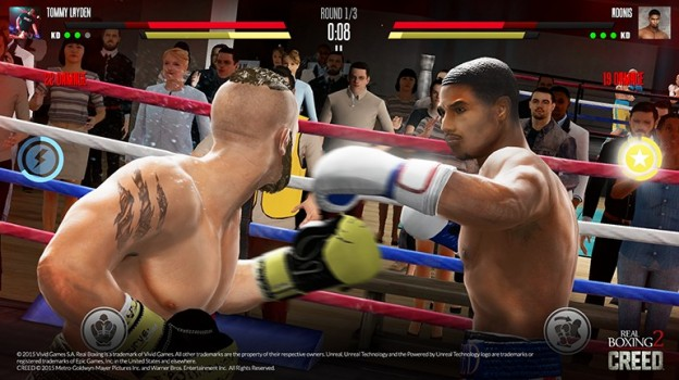 Real Boxing 2 CREED Screenshot #1 for iOS