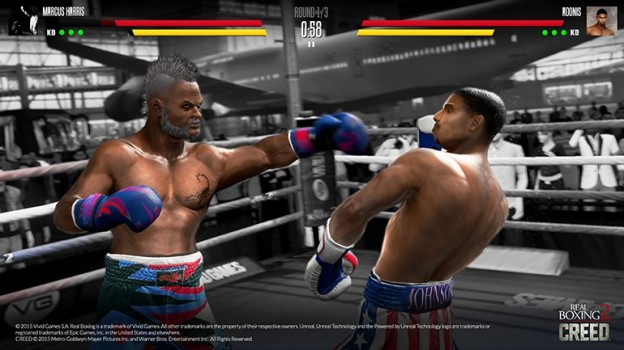 Real Boxing 2 CREED Screenshot #4 for iOS