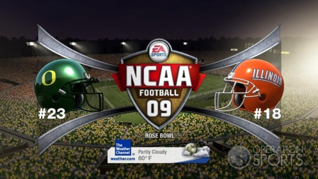 NCAA Football 09 Screenshot #982 for Xbox 360