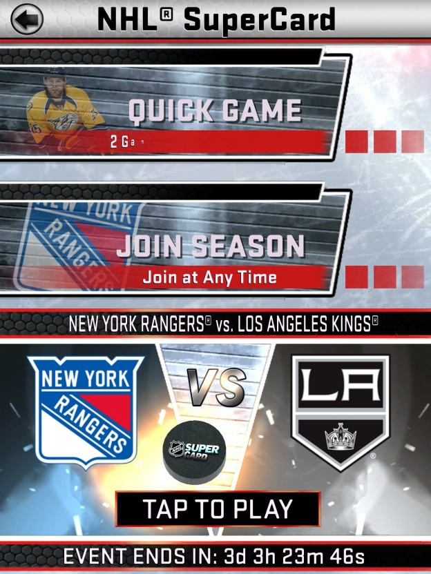 NHL SuperCard Screenshot #32 for iOS