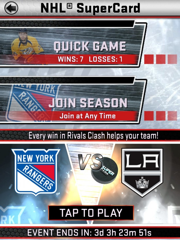 NHL SuperCard Screenshot #33 for iOS