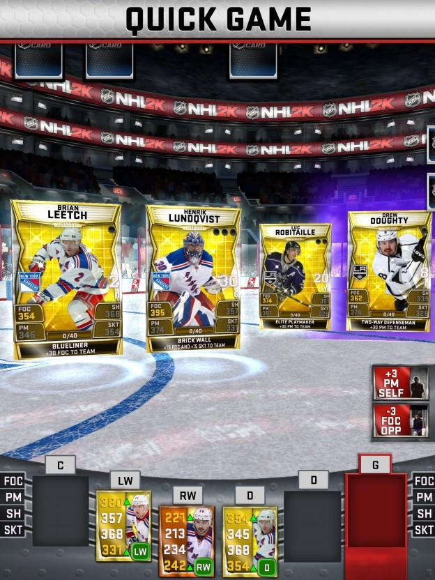 NHL SuperCard Screenshot #38 for iOS