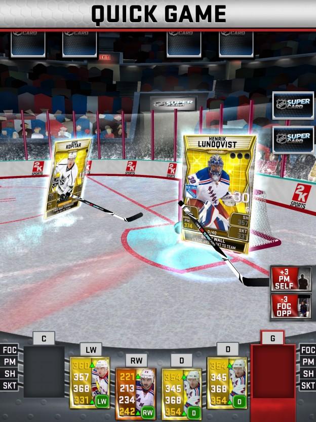 NHL SuperCard Screenshot #41 for iOS