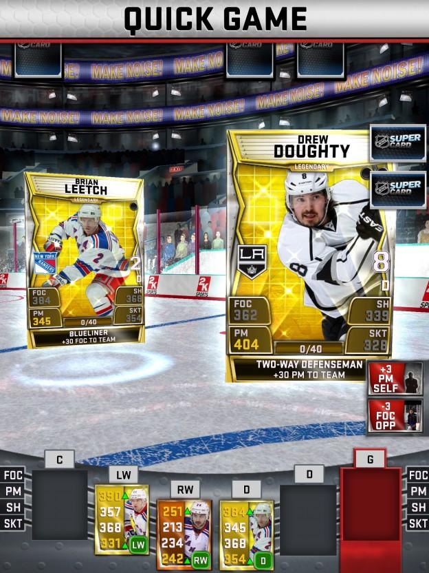 NHL SuperCard Screenshot #42 for iOS