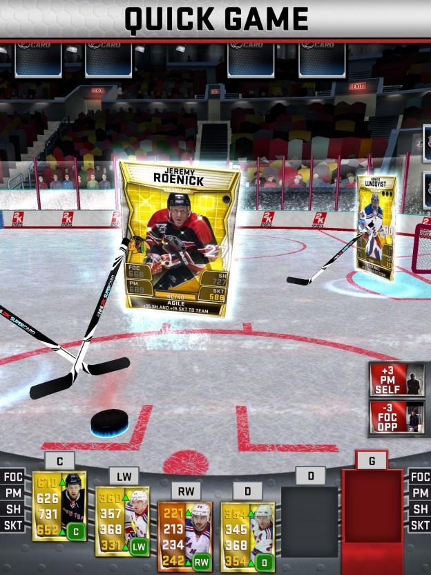 NHL SuperCard Screenshot #46 for iOS