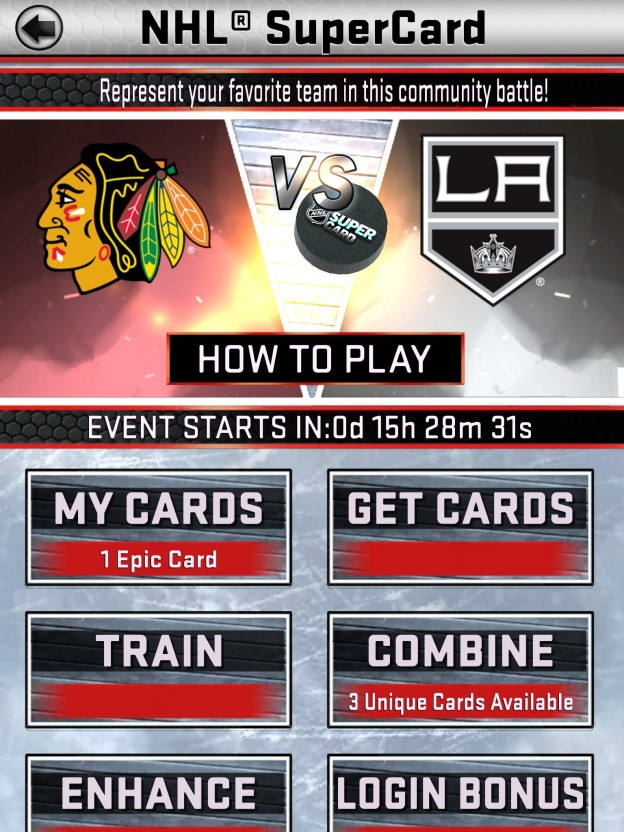 NHL SuperCard Screenshot #56 for iOS