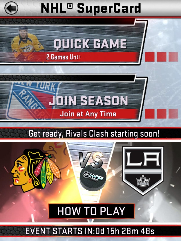 NHL SuperCard Screenshot #57 for iOS