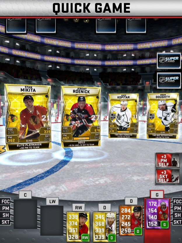 NHL SuperCard Screenshot #61 for iOS