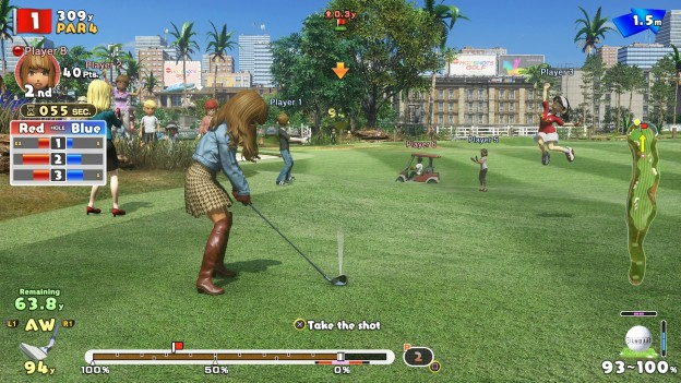 New Hot Shots Golf Screenshot #1 for PS4