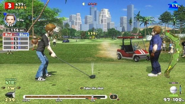 New Hot Shots Golf Screenshot #4 for PS4