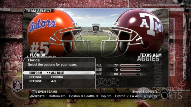 NCAA Football 09 Screenshot #998 for Xbox 360