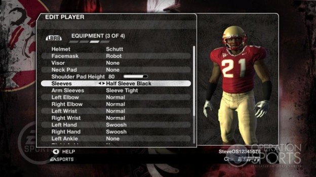 NCAA Football 09 Screenshot #1014 for Xbox 360