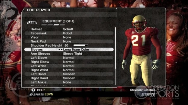 NCAA Football 09 Screenshot #1016 for Xbox 360