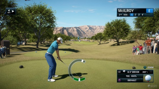 Rory McIlroy PGA TOUR Screenshot #100 for PS4