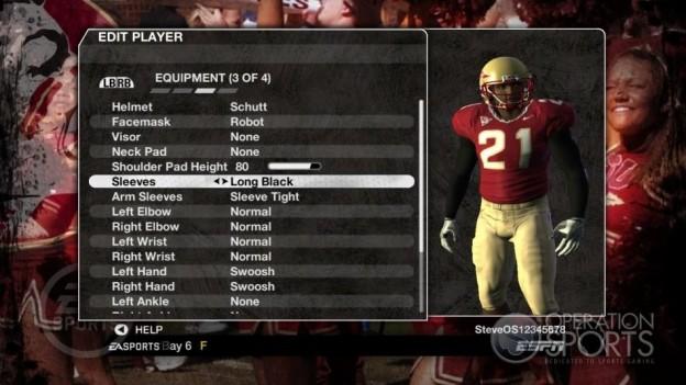 NCAA Football 09 Screenshot #1017 for Xbox 360