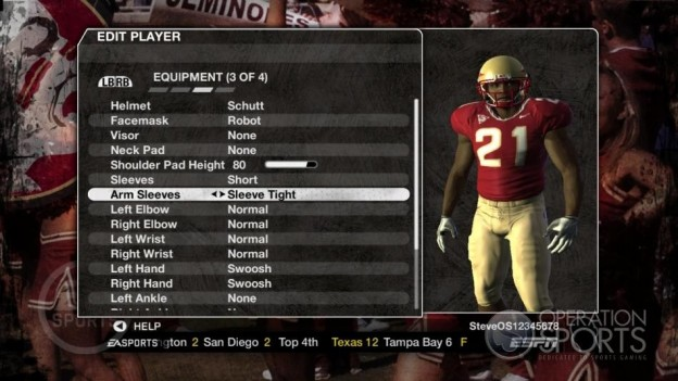 NCAA Football 09 Screenshot #1019 for Xbox 360