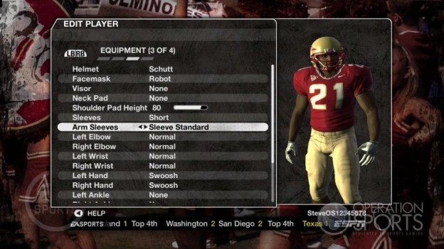 NCAA Football 09 Screenshot #1020 for Xbox 360