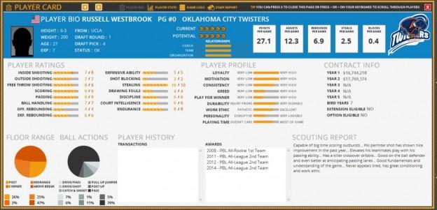 Draft Day Sports: Pro Basketball 2016 Screenshot #4 for PC
