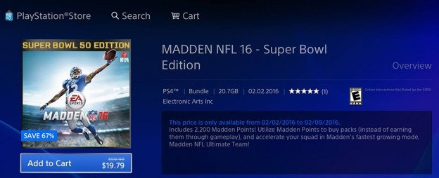 Madden NFL 16 Screenshot #287 for PS4