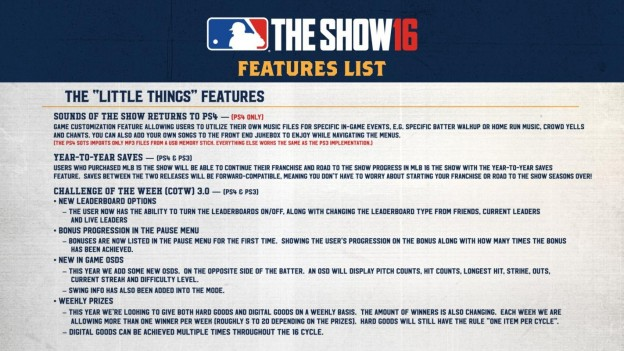 MLB The Show 16 Screenshot #94 for PS4