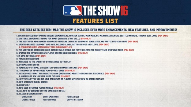 MLB The Show 16 Screenshot #95 for PS4