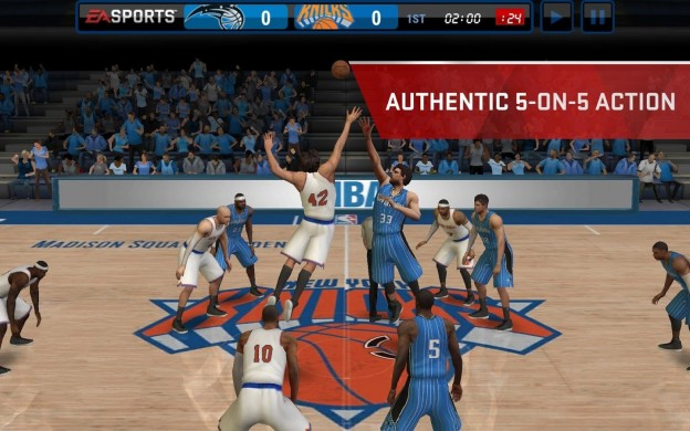 NBA Live Mobile Screenshot #1 for Android