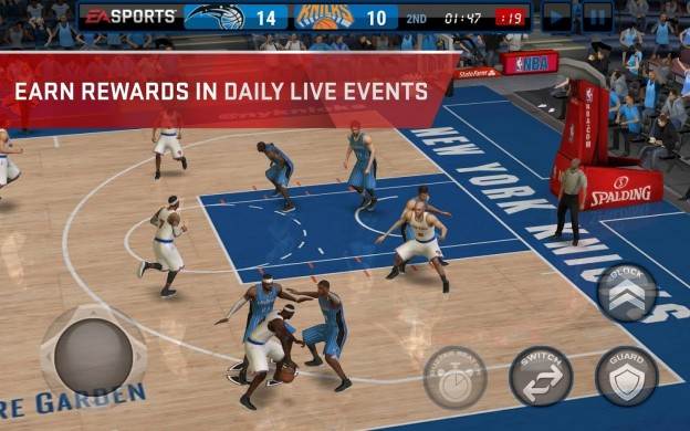 NBA Live Mobile Screenshot #2 for Android