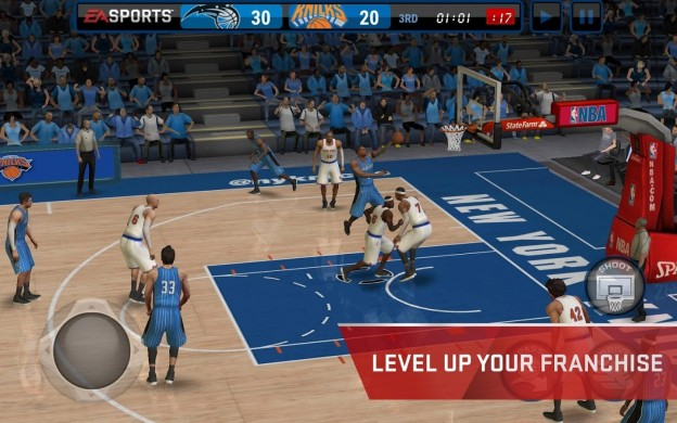 NBA Live Mobile Screenshot #4 for Android