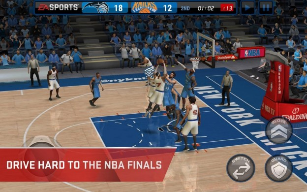 NBA Live Mobile Screenshot #5 for Android