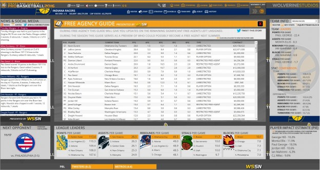 Draft Day Sports: Pro Basketball 2016 Screenshot #6 for PC