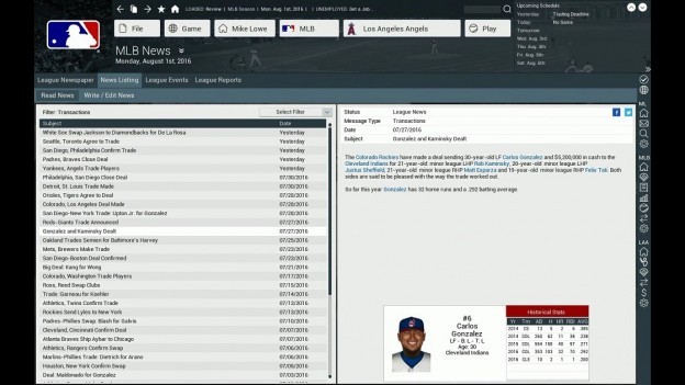 Out of the Park Baseball 17 Screenshot #15 for PC