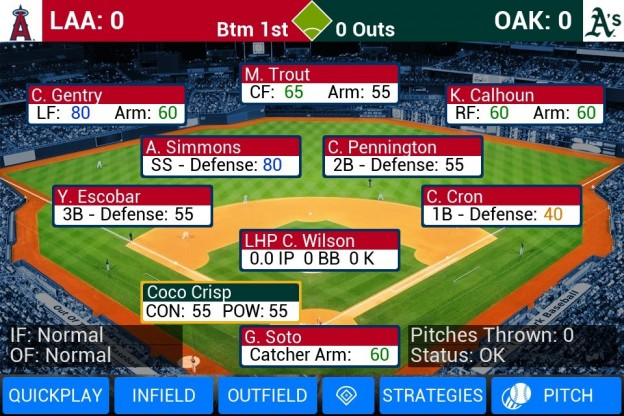 MLB Manager 2016 Screenshot #1 for Android, iOS