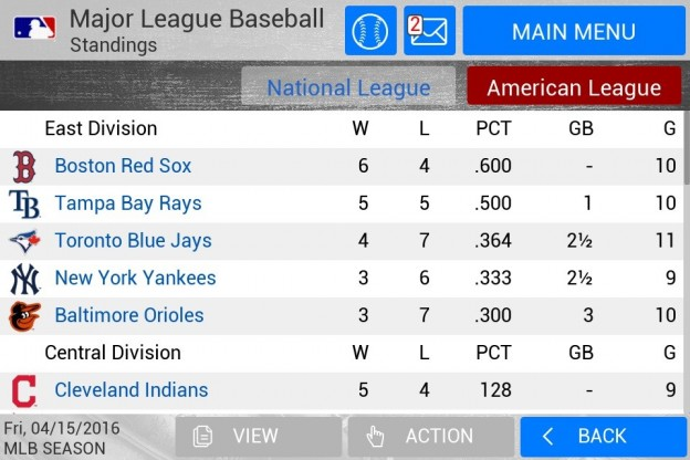 MLB Manager 2016 Screenshot #3 for Android, iOS