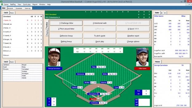 Diamond Mind Baseball Screenshot #1 for PC