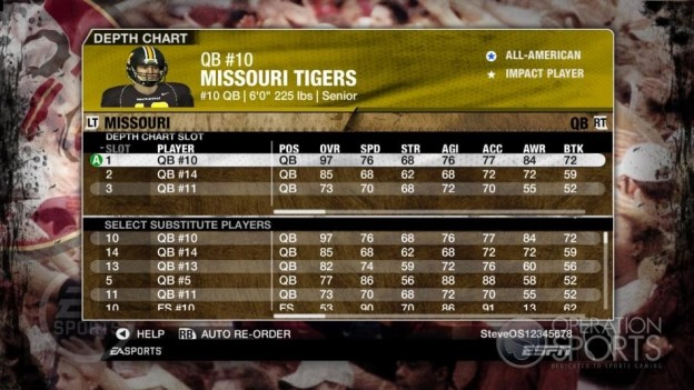 NCAA Football 09 Screenshot #1079 for Xbox 360