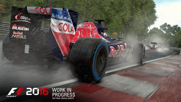 F1 2016 Screenshot #7 for PS4