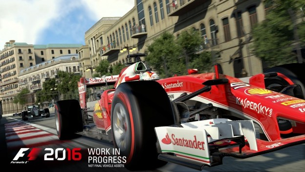 F1 2016 Screenshot #1 for Xbox One