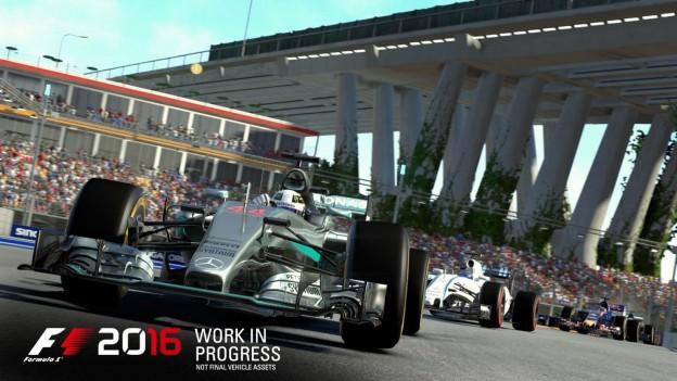 F1 2016 Screenshot #2 for Xbox One