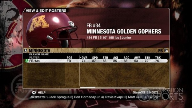 NCAA Football 09 Screenshot #1122 for Xbox 360