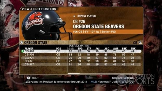 NCAA Football 09 Screenshot #1134 for Xbox 360