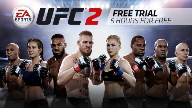 EA Sports UFC 2 Screenshot #4 for Xbox One
