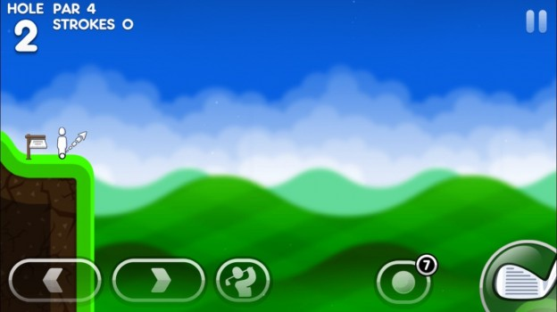 Super Stickman Golf 3 Screenshot #2 for iOS