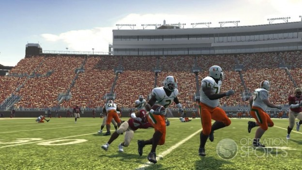 NCAA Football 09 Screenshot #1176 for Xbox 360