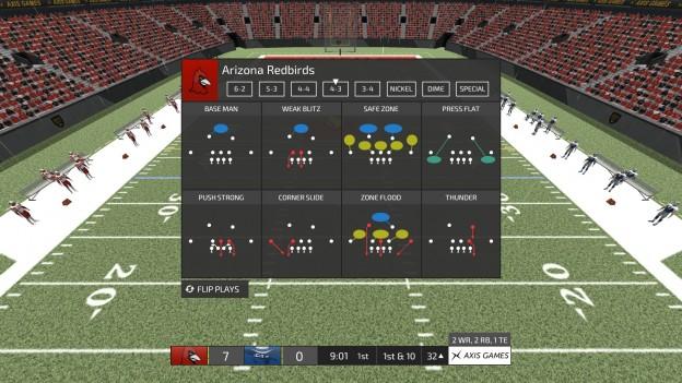 Axis Football 2016 Screenshot #17 for PC