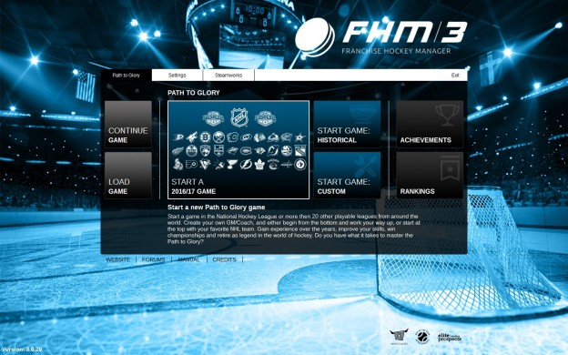 Franchise Hockey Manager 3 Screenshot #2 for PC