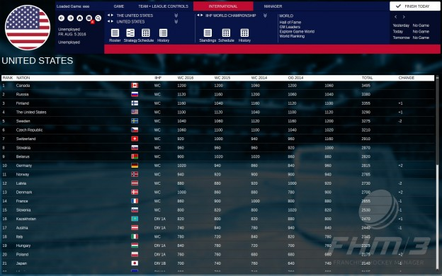 Franchise Hockey Manager 3 Screenshot #3 for PC